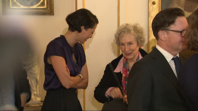 GBR: Camilla, Duchess of Cornwall, hosts tea for Booker Prize winners at Clarence House