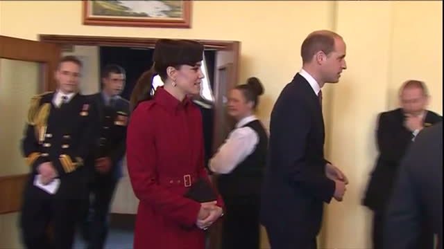 shows interior shots catherine duchess of cambridge and william duke of cambridge arriving and talking to raf personnel interior shots kate and... - 2009 stock videos & royalty-free footage
