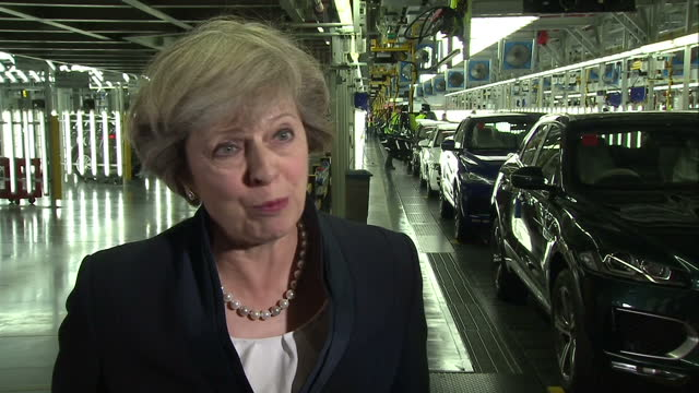 shows interior shots interview soundbite with uk prime minister theresa may on planned junior doctors strikes. the prime minister theresa may has... - politics and government stock videos & royalty-free footage