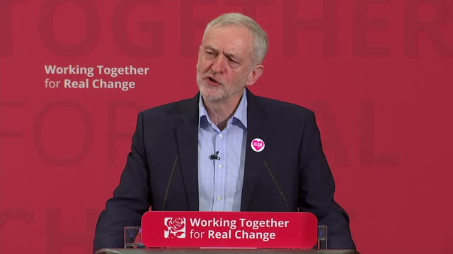 shows interior shots uk labour leader jeremy corbyn speaking on criticising uk government's relationship with saudi arabia and bahrain and issues of... - human back stock videos & royalty-free footage