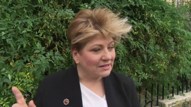 shows interview with labour mp emily thornberry speaking on labour party deefat at 2019 general election, comments made about her by former colleague... - former stock videos & royalty-free footage