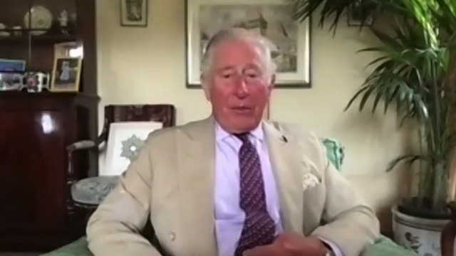 GBR: Interview with Prince Charles speaking about life after coronavirus