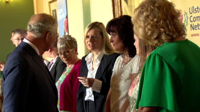 GBR: The Prince Of Wales and Duchess Of Cornwall Continue Their Visit to Northern Ireland