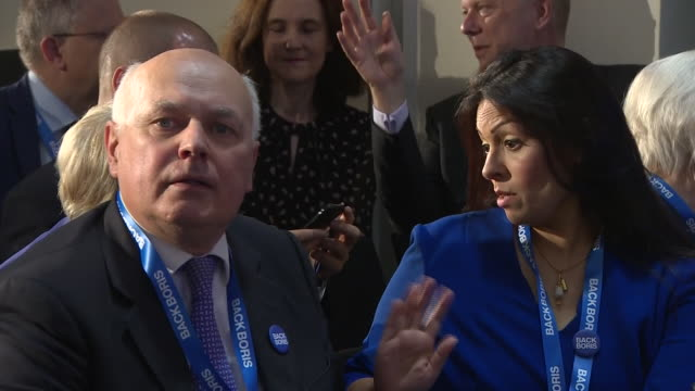 shows various mps including grant shapps mp, james brokenshire mp, iain duncan smith mp and priti patel mp, chris grayling mp, gavin williamson mp,... - mp stock videos & royalty-free footage