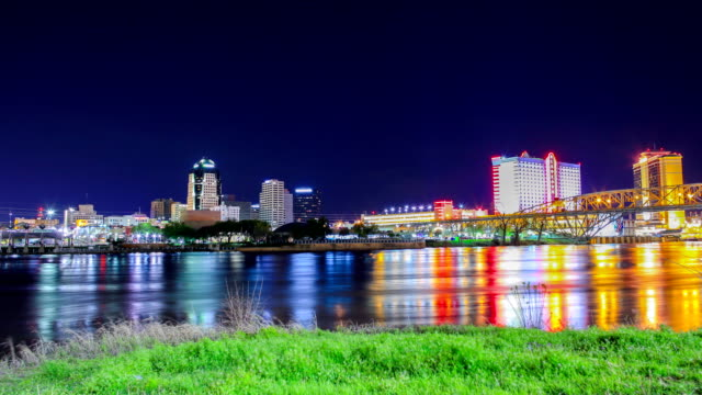 shreveport, louisiana - gulf coast states stock-videos und b-roll-filmmaterial