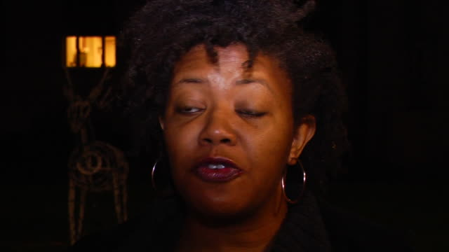 shreveport's mariam harley urges africanamerican shoppers to show their economic power by boycotting the black friday shopping weekend this is the... - 不公平点の映像素材/bロール