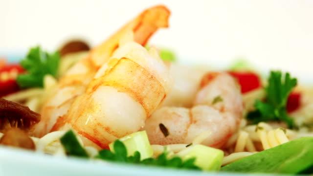 Shrimp-Suppe