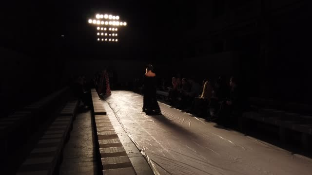 rehearsals shrimps at lfw february 2019 backstage on february 18 2019 in london united kingdom - shrimp seafood stock videos & royalty-free footage