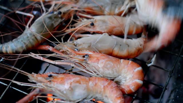 shrimps grill