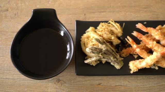 えびの天ぷら (揚げ芝海老の衣揚げ)