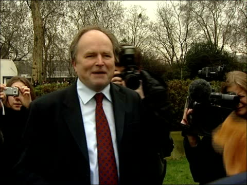 vídeos y material grabado en eventos de stock de parliamentary pancake race clive anderson talking about race sot hope we caught nick robinson losing on the turn / nobody obeyed the rules about... - clive anderson