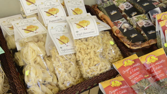 ms shto of various pasta / siena, tuscany, italy - toscana bildbanksvideor och videomaterial från bakom kulisserna