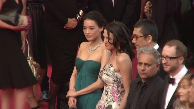 Shu Qi Asia Argento James Gray Isabelle Huppert Robin Wright Penn Sharmila Tagore Lee Chang Dong Nuri Bilge Ceylan and Hanif Kureishi at the Cannes...