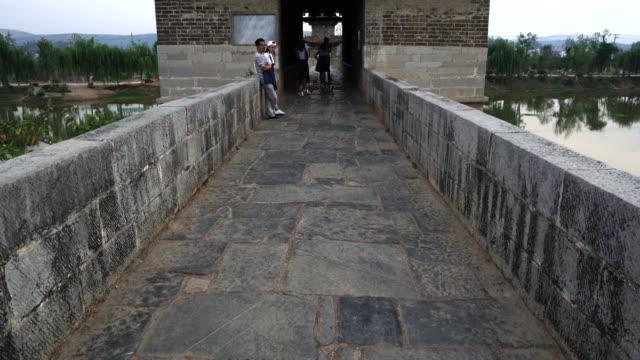 Shuanglong Bridge, Double Dragon Bridge, Qing Dynasty, Jianshui Old Town, Jianshui County, Honghe Han and Hi Autonomous Prefecture, Yunnan Province, China, Asia