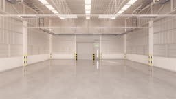 Shutter door warehouse