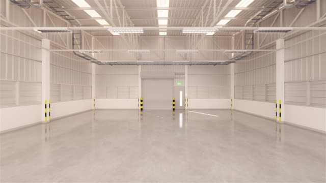 shutter door warehouse - airplane hangar stock videos and b-roll footage