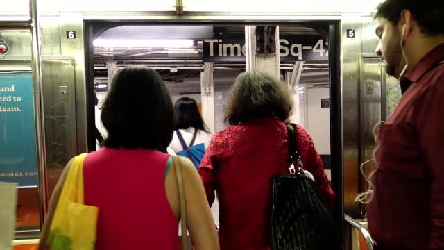 "POV, Shuttle Subway ""S"", Grand Central, New York City"