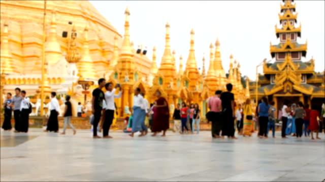 Shwedagon Pagoda timelapse
