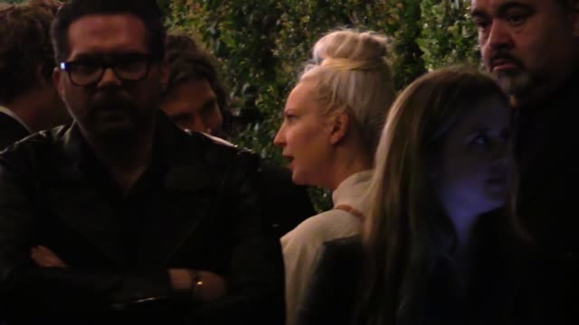 sia & erik anders arrive at the vanity fair fiat young hollywood in hollywood in celebrity sightings in los angeles, - candid stock videos & royalty-free footage