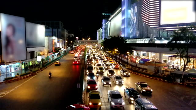 siam square in bangkok city, thailand - full hd format stock videos & royalty-free footage