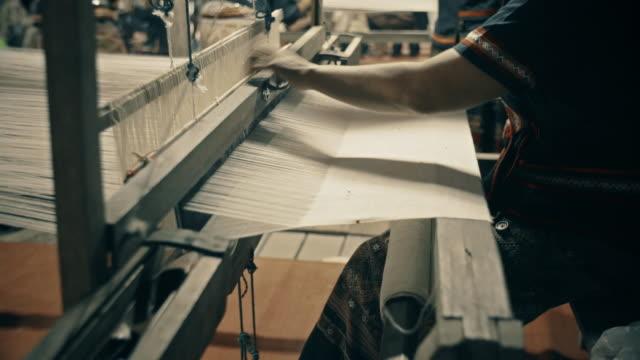 Siamese hand weaving cotton