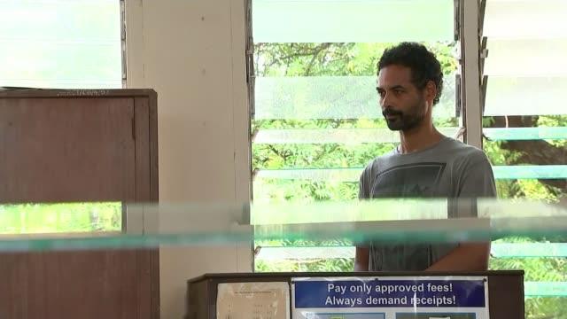 arthur simpsonkent admits to murders t12011633 / tx ghana accra ext various shots of arthur simpsonkent in court - arthur simpson kent stock videos & royalty-free footage