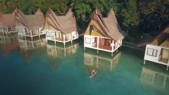 siargao island philippines - landhaus stock-videos und b-roll-filmmaterial