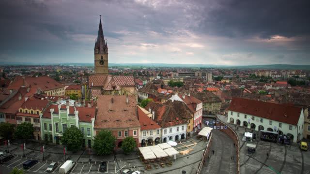 ZEITRAFFER: Sibiu, Rumänien