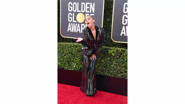 sibley scoles attends the 77th annual golden globe awards at the beverly hilton hotel on january 05 2020 in beverly hills california - the beverly hilton hotel stock-videos und b-roll-filmmaterial