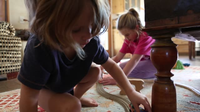 siblings playing together - diaper stock videos and b-roll footage