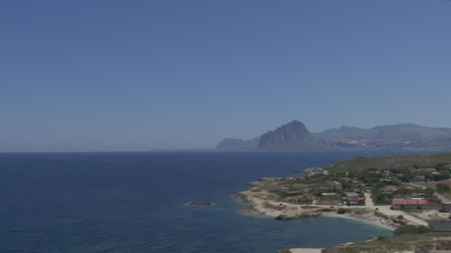 sicily coastline - 地中海点の映像素材/bロール