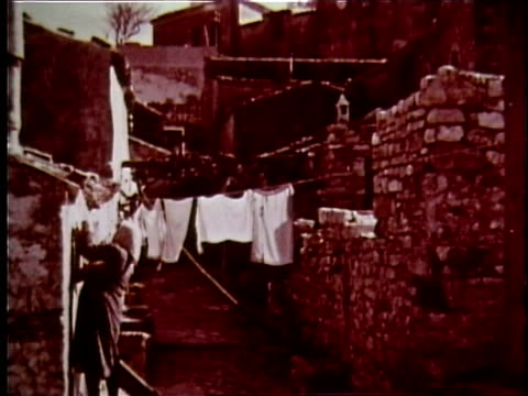 1958 sicily travelogue - 10 of 13 - sicily stock videos and b-roll footage
