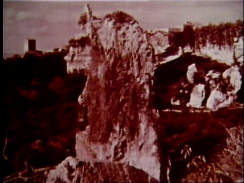 1958 sicily travelogue - 4 of 14 - 50 seconds or greater stock videos and b-roll footage