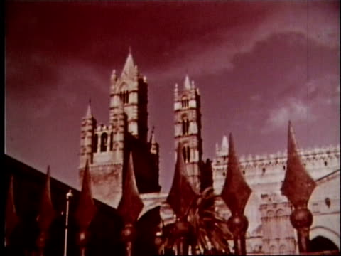 vidéos et rushes de 1958 sicily travelogue - 5 of 13 - byzantin