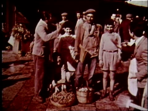 1958 sicily travelogue - 6 of 13 - sicily stock videos and b-roll footage