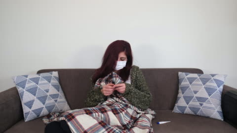 sick woman - turkish ethnicity stock videos & royalty-free footage