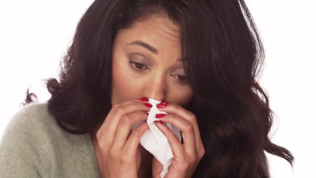 sick woman - season stock videos & royalty-free footage
