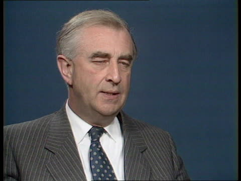sickness inquiry; itn int sick files on shelves cms files on shelf london: itn studios cms sir john wheeler mp intvwd sof - there is a lack of... - co ordination stock videos & royalty-free footage