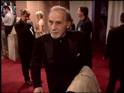 stockvideo's en b-roll-footage met sid caesar at the night of 100 stars oscar gala at the beverly hilton in beverly hills, california on february 29, 2004. - 76e jaarlijkse academy awards