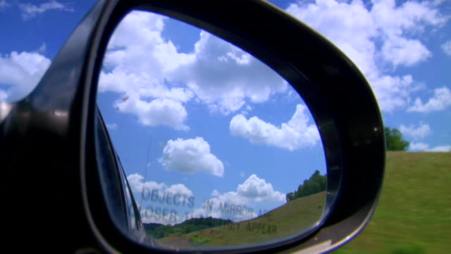 side mirror - wing mirror stock videos & royalty-free footage