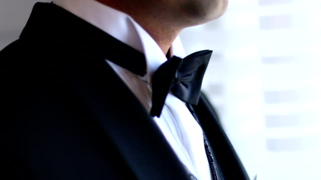 side view of a young business - tuxedo stock videos and b-roll footage