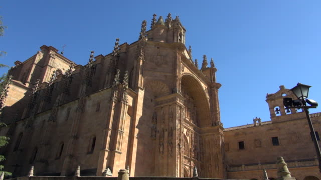 Side View of San Esteban Monastery