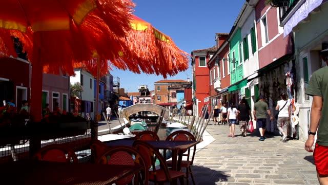 HD SUPER SLOW-MO: Sidewalk Cafe In Venice