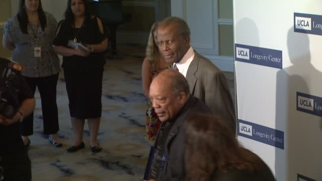 sidney poitier and quincy jones at 2012 icon awards sidney poitier and quincy jones at 2012 icon award at beverly hills hotel on june 06 2012 in... - quincy jones stock videos & royalty-free footage