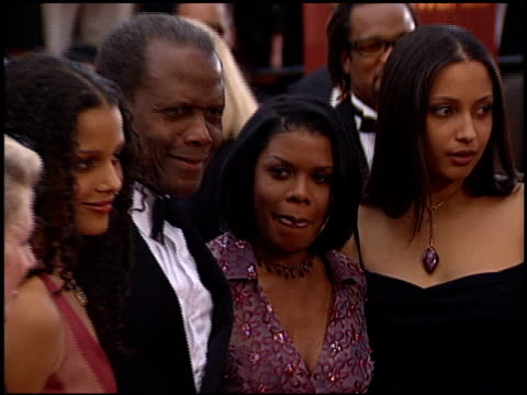 sidney poitier at the 2000 screen actors guild sag awards arrivals at the shrine auditorium in los angeles, california on march 12, 2000. - shrine auditorium stock videos & royalty-free footage