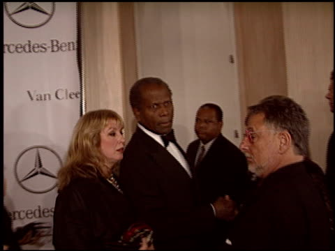 sidney poitier at the carousel of hope gala at the beverly hilton in beverly hills california on october 23 2004 - carousel of hope stock videos and b-roll footage