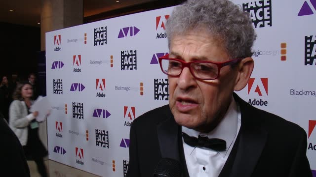 INTERVIEW Sidney Wolinsky on how he's feeling tonight on if this nomination means more to him because it was voted on by his peers at 68th Annual ACE...