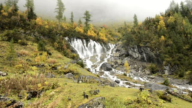 Siebenbrunnen Waterfalls Switzerland
