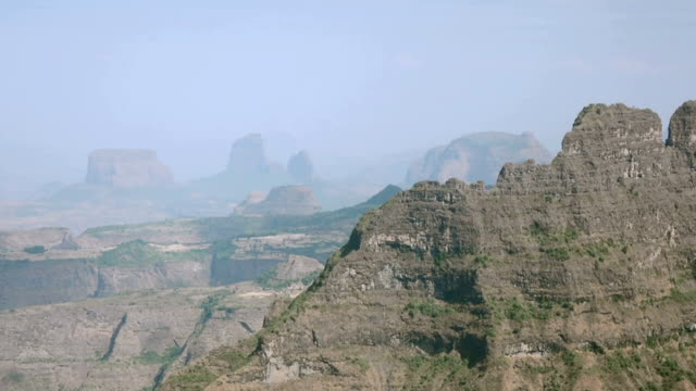 Siemen mountains in Ethiopia.