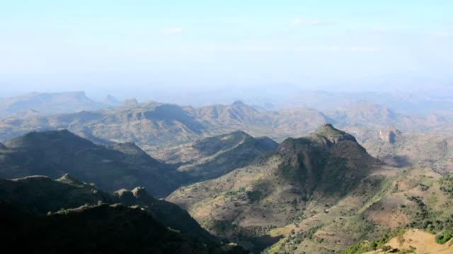 siemens berge in äthiopien. - äthiopien stock-videos und b-roll-filmmaterial